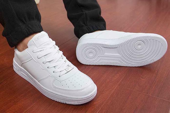 Jak czyścić białe buty