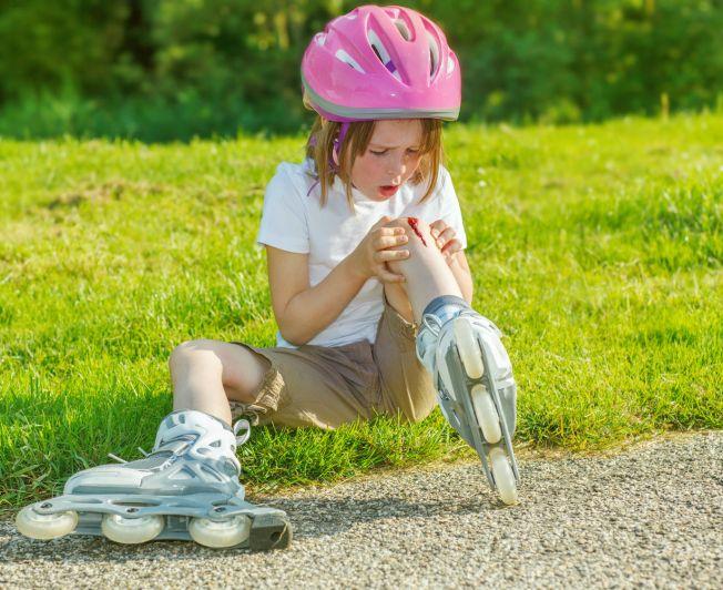 Otarcia i rany u dzieci